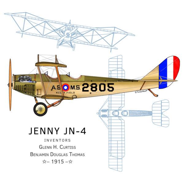 Jenny JN-4 Design\