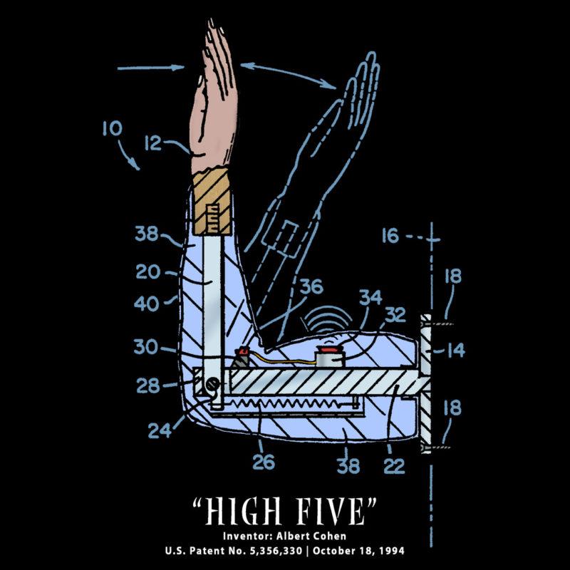 High Five Design on Darks