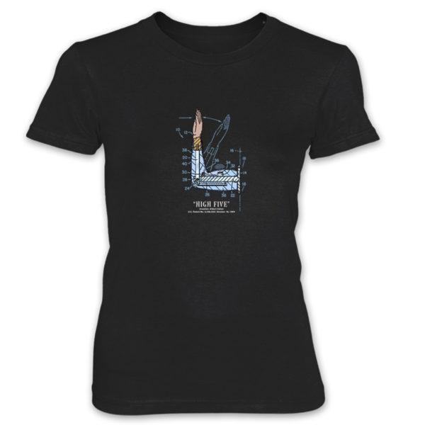 High Five Women's T-Shirt BLACK