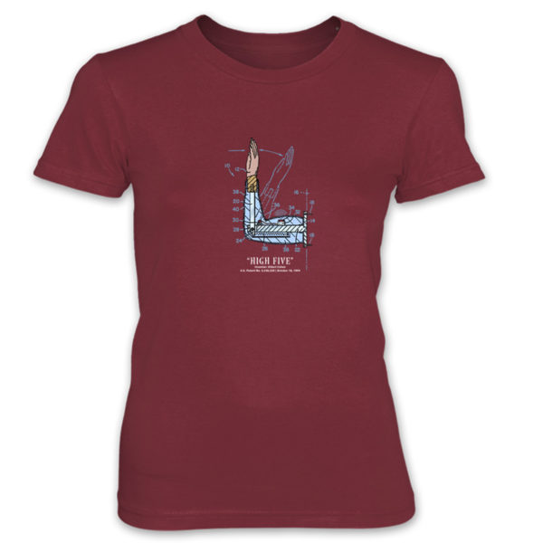 High Five Women's T-Shirt INDEPENDENCE RED