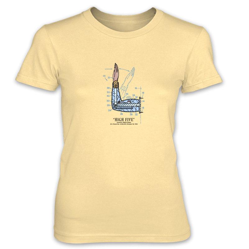 High Five Women's T-Shirt SPRING YELLOW