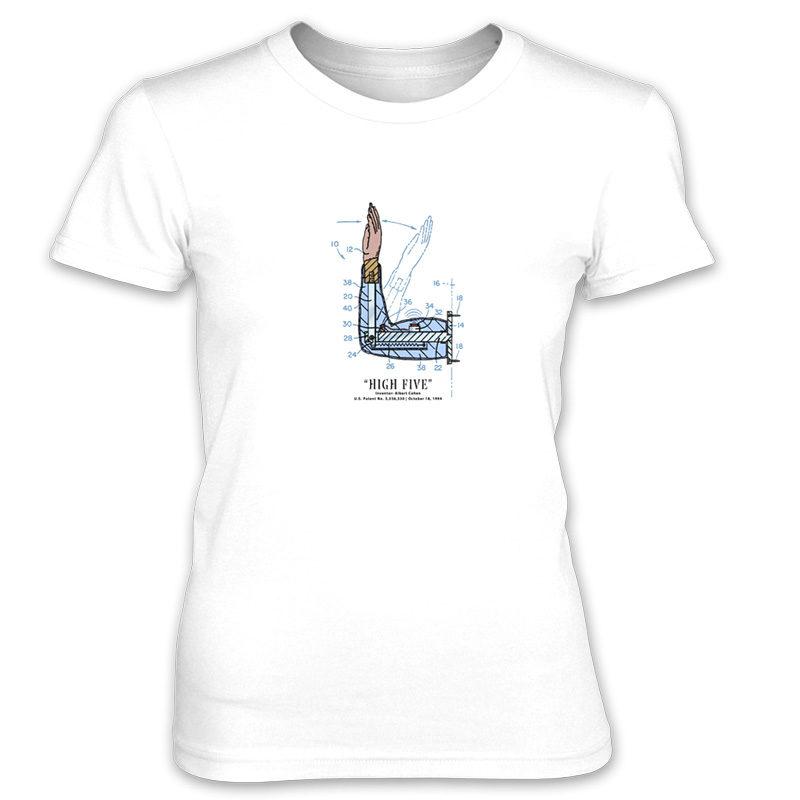 High Five Women's T-Shirt WHITE