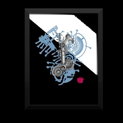 Derailleur-Campagnolo Wall Art 1 Framed 12x16
