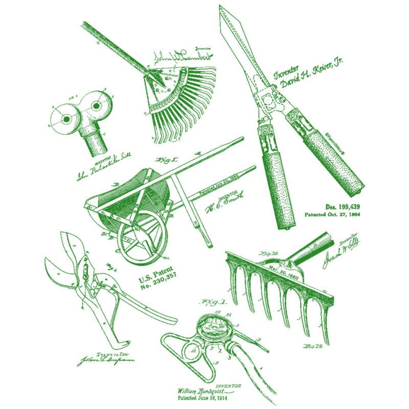 Garden Tools MS Lineart DESIGN