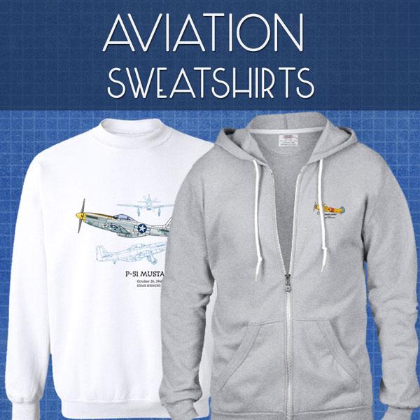 Aviation Sweatshirts | Unisex
