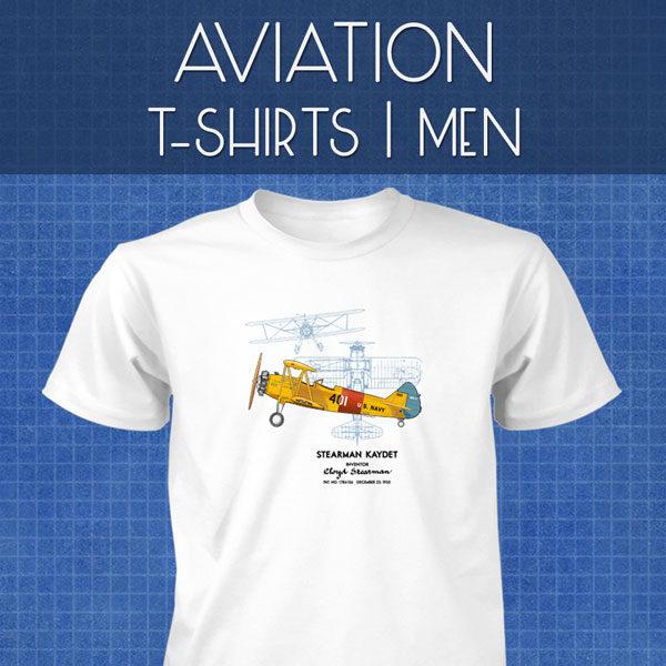 Aviation T-Shirts   Men