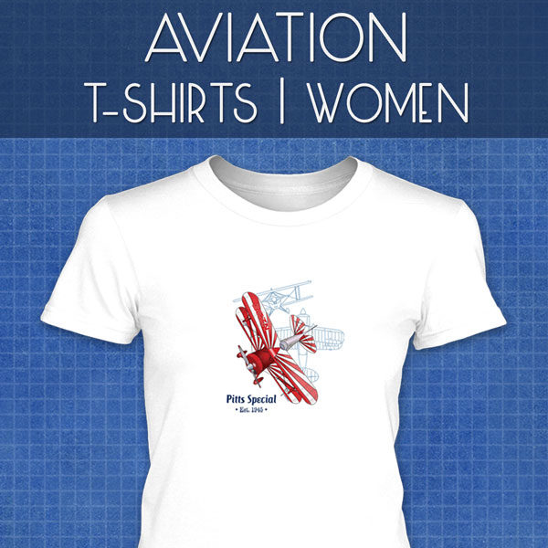 Aviation T-Shirts | Women