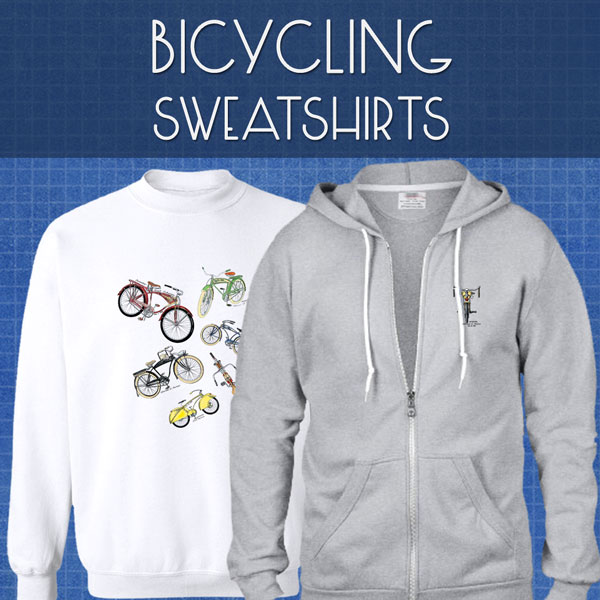 Bicycling Sweatshirts | Unisex