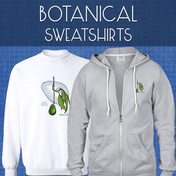 Botanical Sweatshirts | Unisex