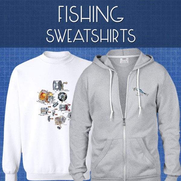 Fishing Sweatshirts | Unisex