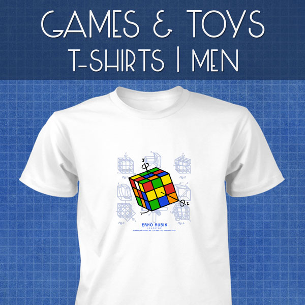 Games & Toys T-Shirts | Men