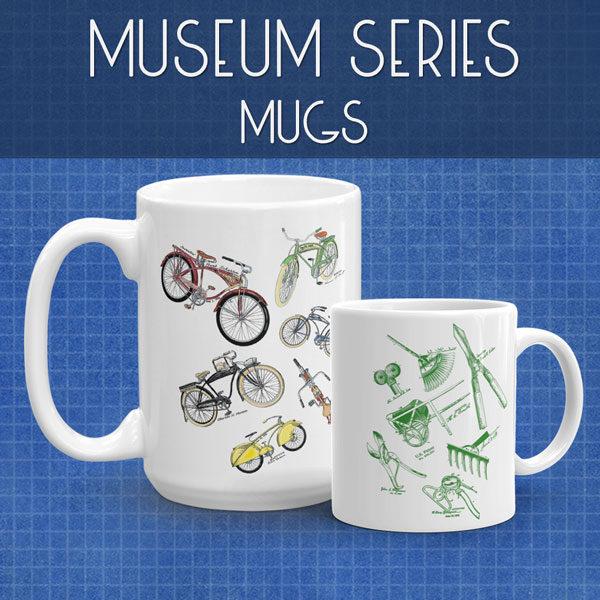 Museum Series | Mugs