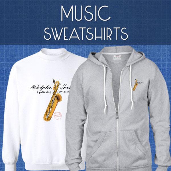 Music Sweatshirts | Unisex