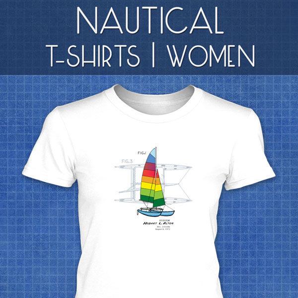 Nautical T-Shirts | Women