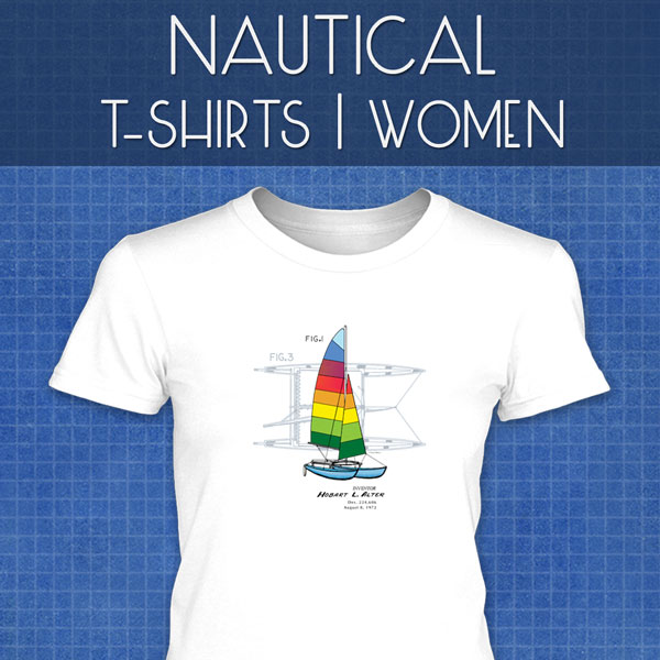 Nautical T-Shirts | Women