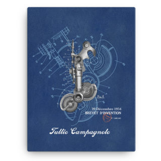 Derailleur-Campagnolo Wall Art Canvas