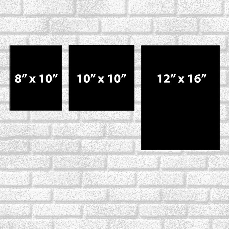 Relative Wall Art Sizes