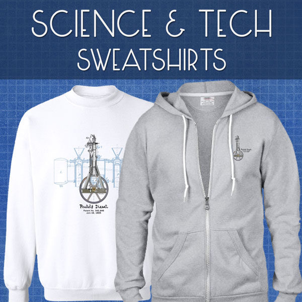 Sci-Tech Sweatshirts | Unisex