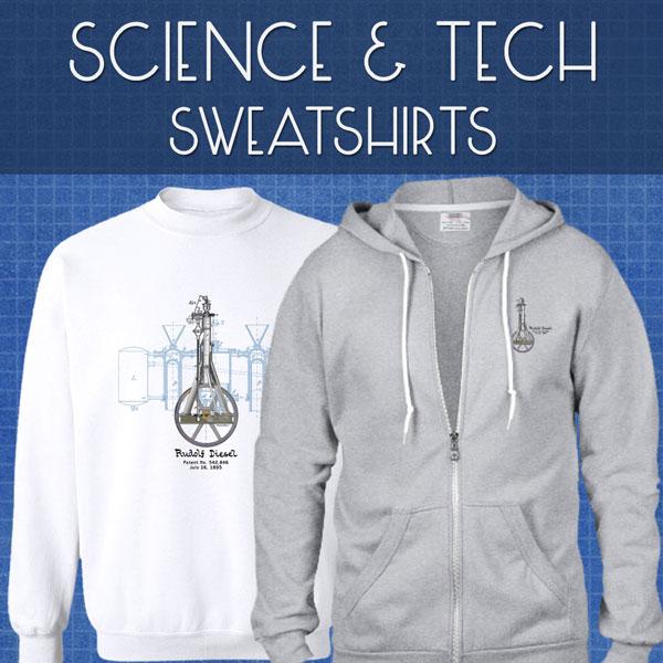 Sci-Tech Sweatshirts | Unisex