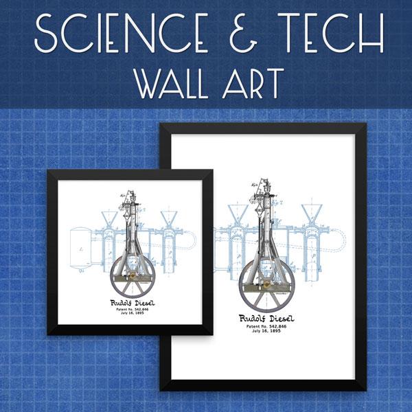 Sci-Tech | Wall Art