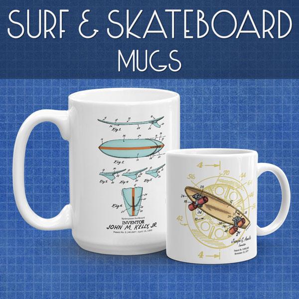 Surf & Skate | Mugs