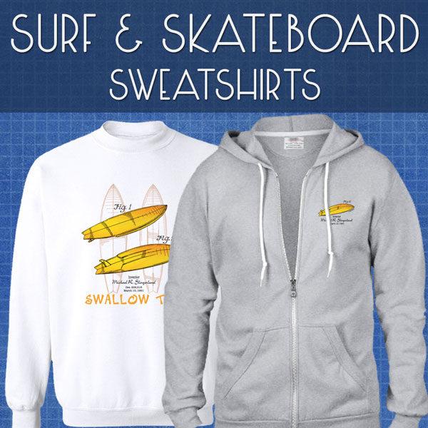 Surf & Skate Sweatshirts | Unisex