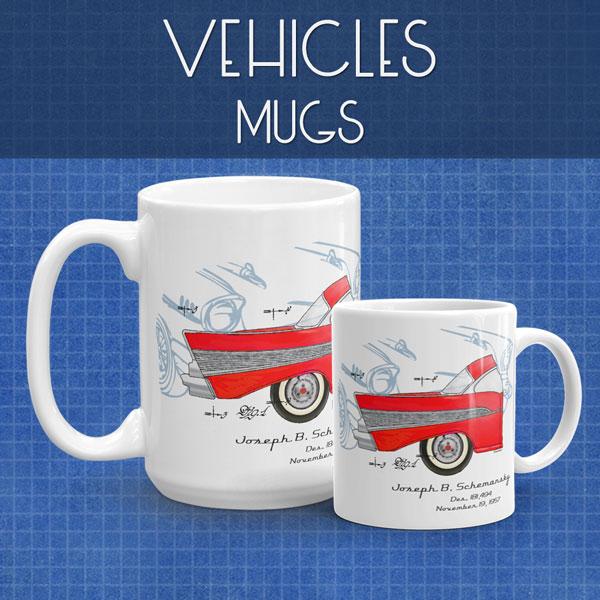 Vehicles | Mugs
