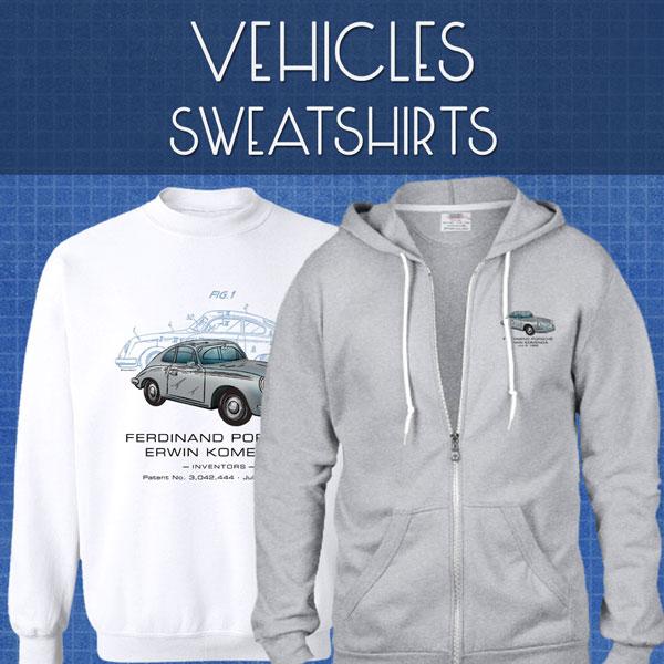 Vehicles Sweatshirts | Unisex
