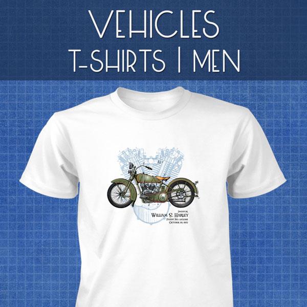 Vehicles T-Shirts | Men
