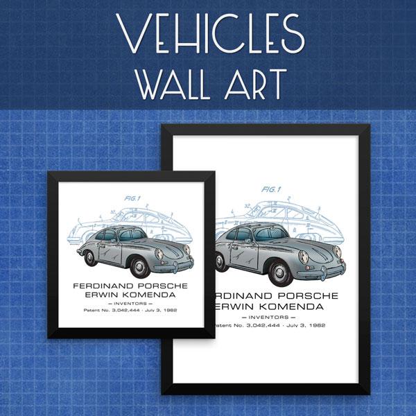 Vehicles | Wall Art