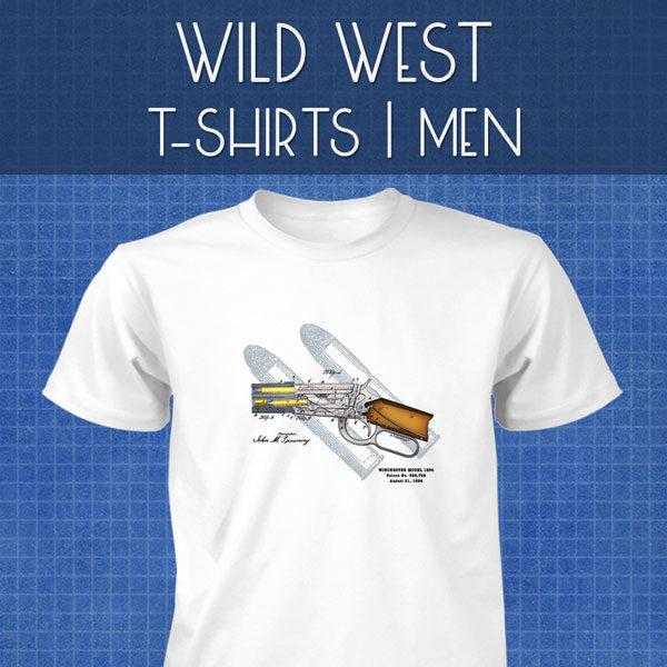 Wild West T-Shirts | Men