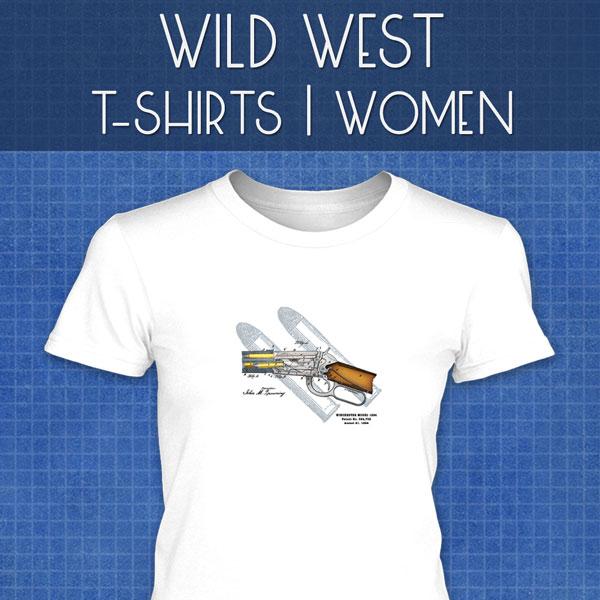 Wild West T-Shirts | Women