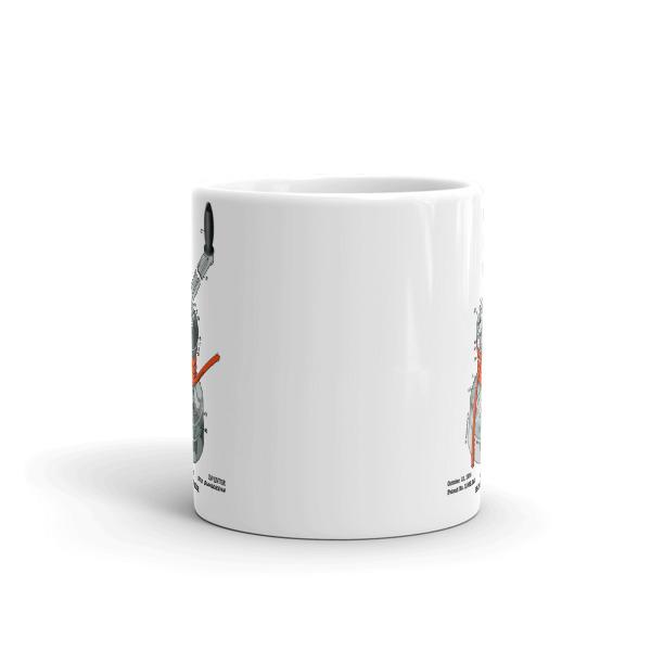 Winch 11oz Mug FRONT VIEW