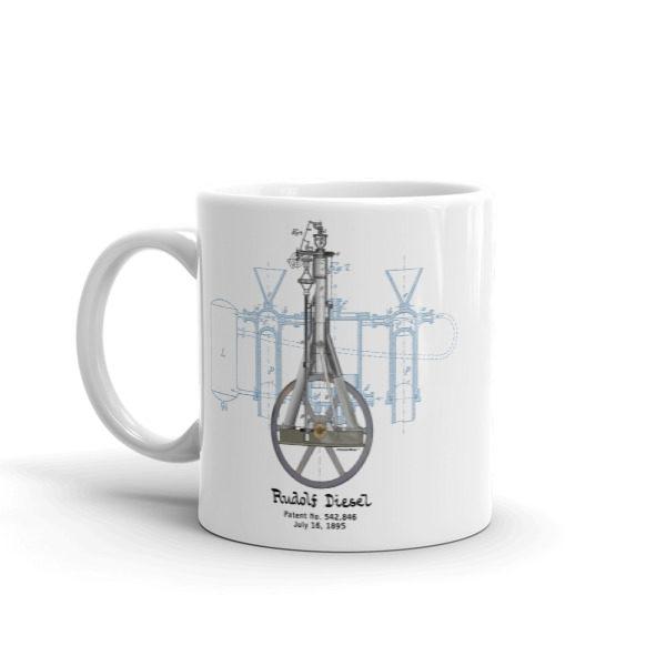 Diesel Engine 11oz Mug