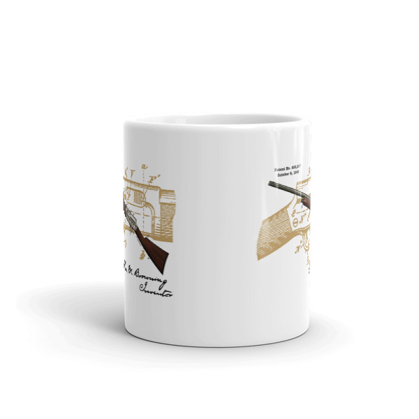 Browning Auto-4 11oz Mug FRONT VIEW