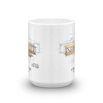 Flying Machine 15oz Mug FRONT VIEW