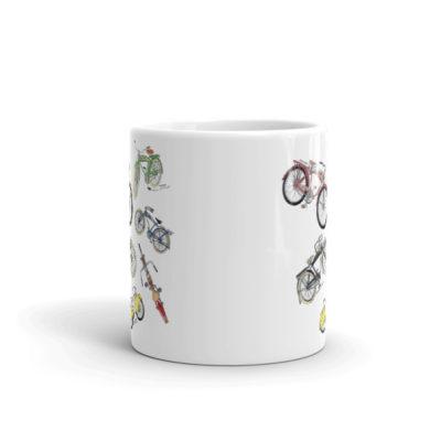 Bicycles MS-Color 11oz Mug FRONT VIEW