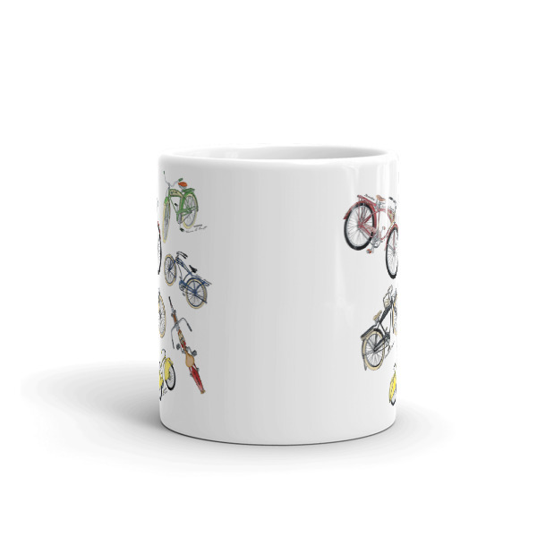 Bicycles MS-Color 11oz Mug FRONT VIEW