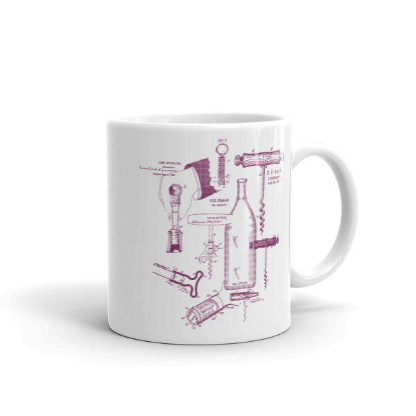 Corkscrew MS-Lineart 11oz Mug