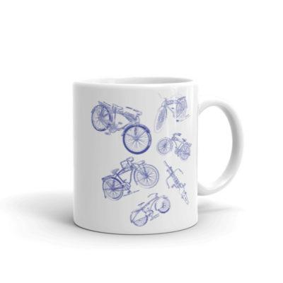 Bicycles MS-Lineart 11oz Mug