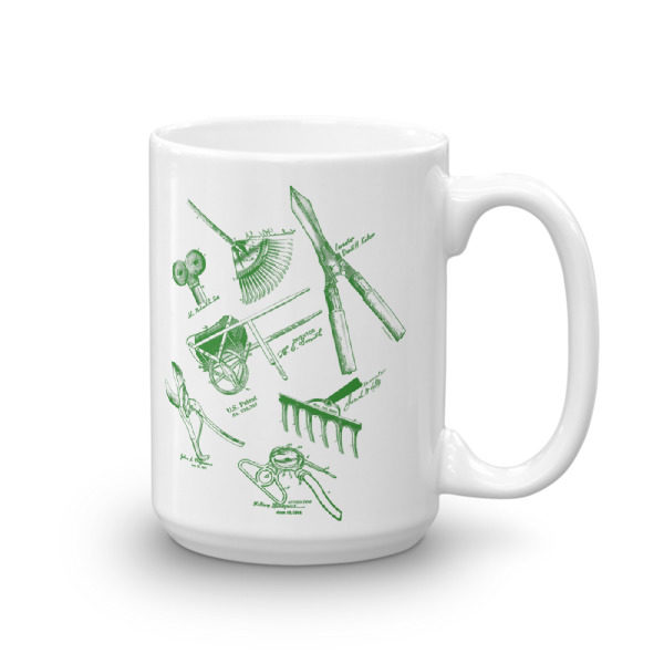 Garden Tools MS-Lineart 15oz Mug