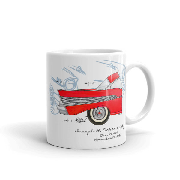 57 Chevy 11oz Mug