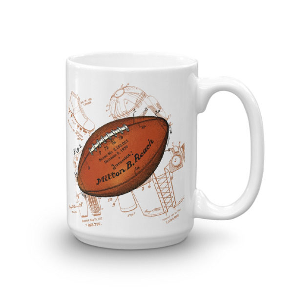 Football Solo 15oz Mug