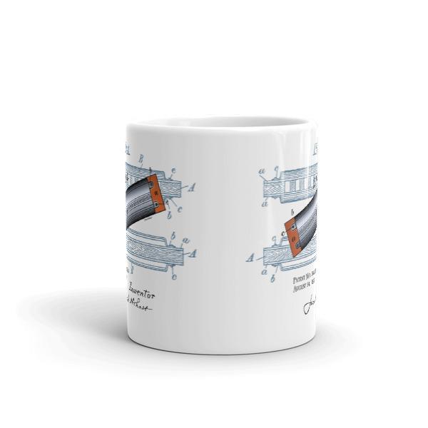 Harmonica 11oz Mug FRONT VIEW
