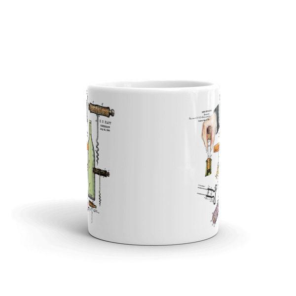 Corkscrew MS-Color 11oz Mug FRONT VIEW