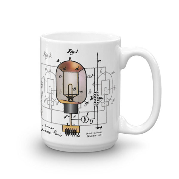 Fleming Vacuum Tube 15oz Mug