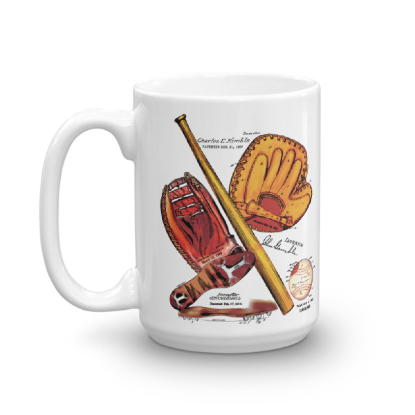 Baseball MS-Color 15oz Mug