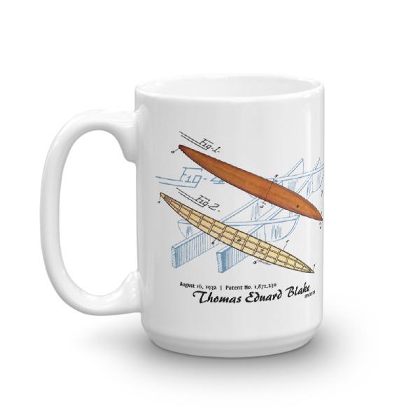 Blake Paddle Board 15oz Mug