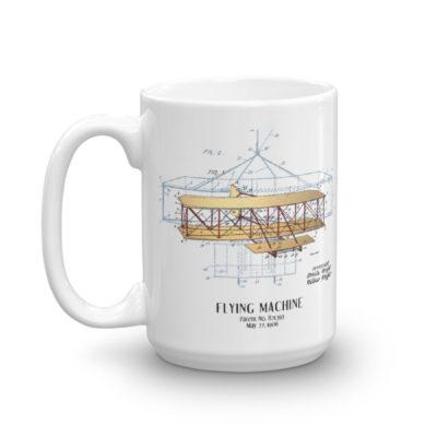 Flying Machine 15oz Mug