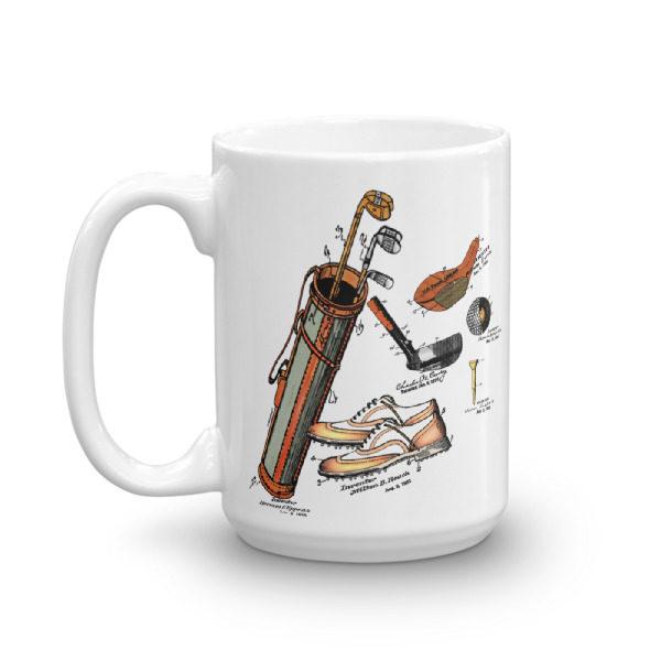 Golf MS-Color 15oz Mug